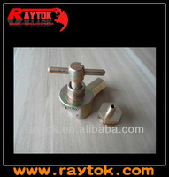 Button type grease fitting for vessels usage