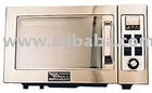 Laboratory microwave oven with temperature controller