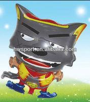 Cheap wolf mylar balloon custom aluminium foil balloon