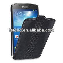 OEM Premium Leather Case for Samsung Galaxy S4/IV Active I9295 SGH-i537 -- Troyes (Weave: Prestige Dark Brown057)