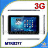 9'' MTK8377,dual core,cortex A9 metal shell 6500mah Android 4.1 tablet pc