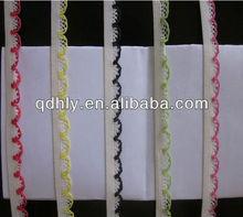 sector edge white elastic bra strap