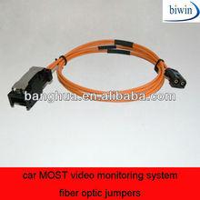 Car más del sistema de vigilancia de jumpers de fibra óptica