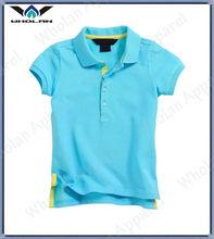 kids blue cotton wholesale brand custom t-shirt for boys