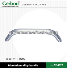 aluminium handle for office desk