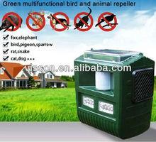 Effective garden solar ultrasonic wild animal repeller for bird,pigeon,bat,sparrow,rat,snake,dog,cat,elephant,fox.