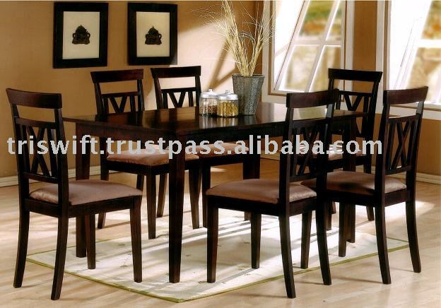 Furniture,Wooden Dining Set,Dining Chair And Table,Home Furniture