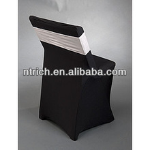 Wholesale cheap folding chair cover, spandex/lycra chair cover