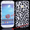Cheap Cellphone Covers!#I9190-4003I#Charming Leapord Design PC Case for Samsung Galaxy S4 Mini i9190