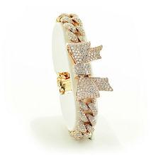 STAVIORI Diamond Bracelet RIBBON DDB0788 18K Italian Exclusive Jewelry