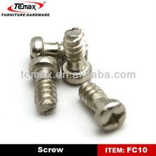furniture cam screws for cabinet furniture glides screw