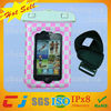 2014 new design tpu waterproof bag for phone with armband