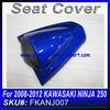 For 2008 2009 2010 2011 2012 NINJA 250 fairing rear seat cowl BLUE