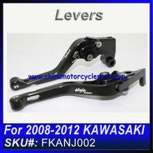 For 2008 2009 2010 2011 2012 KAWASAKI NINJA 250R for sale short lever BLACK