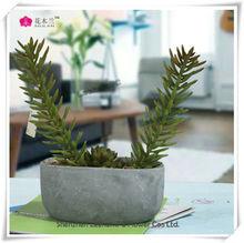 Green Mini Tree Look Real Artificial Grass in Pot