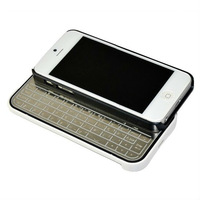 Ultra Slim Detachable Aluminum Magnetic Wireless Bluetooth 3.0 Keyboard Case for iPhone 5