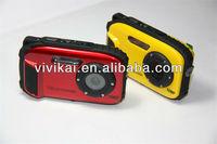 16MP 2.7 TFT LCD 8X Digital Zoom Cheap High-Quality Underwater Digital Camera(DC-188)