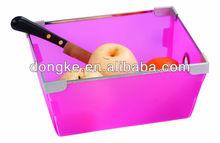 2015 Most Popular selling fashion design home plastic fruit storage box