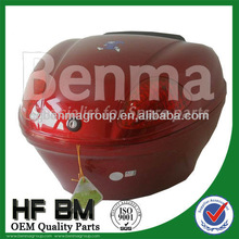 Pakistan motorcycle top case,motorcycle tail box with keys,waterproof material and good quality