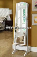 Wooden almirah designs antique Mirror Closet Jeweler