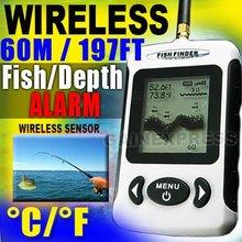 WIRELESS PORTABLE DOT MATRIX FISH FINDER, SONAR, RADIO