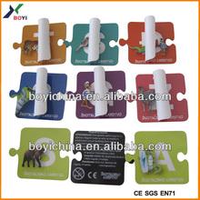 children magnet puzzle/fridge magnet puzzle/magnetic jigsaw puzzle