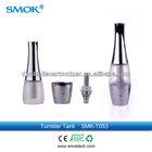 New Smoktech product Smoktech tumbler tank/Smoktech Tropy tank/Smoktech Aro tank bottom coil cartomizer