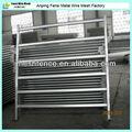 50x50mm rhs vertical 6 barras de metal galvanizado folha portões fazenda