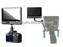 Aputure digital battery powered lcd monitor support HDMI,YPbPr,AV