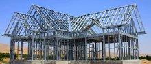 decorative metal stud/fabricated steel frame system