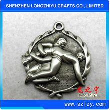 metal custom sport athletics medals for wrestling