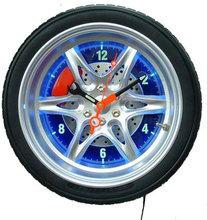 LED Light Tyre Shape Wall Clock