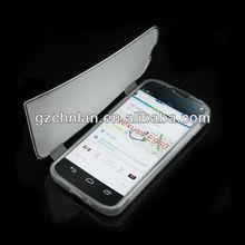 2013 hot item gel flip cover case for LG e960 google nexus 4 case