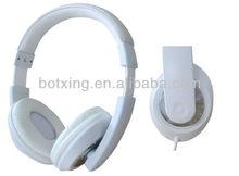White tablet headphones Shenzhen BTX Electronics CO LTD