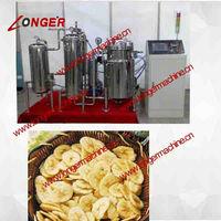 Fruit and vegetable frying machine|Potatio crisp Chips Machine/Fruit and vegetable frying machine/vacuum frying machine
