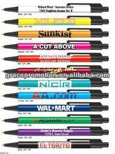Econorama Economy Ballpoint Click Pen W/ Black Or White Trim