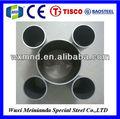 astm 316l de acero inoxidable de tubos con costura