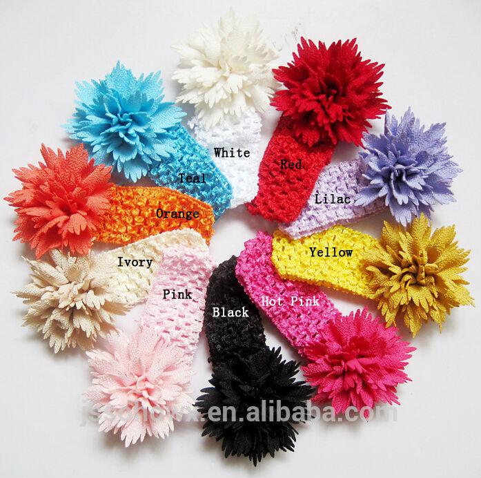 Crochet Pattern Central Baby Headbands : 2014 novo estilo top baby headband, flor crochet baby ...