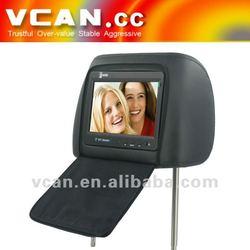"7"" Car touch screen headrest MP5 player car digital screen MP-715H-3"