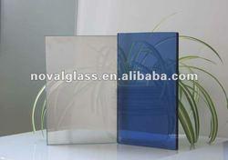 High Qaulity 4MM Dark Blue Reflective Glass China Manufacture