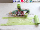 designer print plastic garbage bags