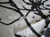 Radiation protection printed silver fabric