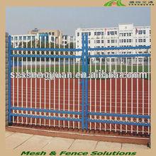 Powder coated metal main gate design