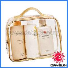 Cheap transparent cosmetic bag pvc case pouch