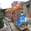 Fairgroud Amusement Electric Mini Train Rides For Park