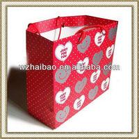 promotion wedding paper bag