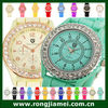 Elegant rhinestone gel watch. crystal watch. diamond watch