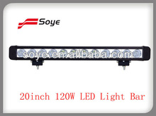 2013 new 20inch 120W led light bar offroad led bar light 4x4 car accessories on china market