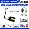 9-16V 35w xenon light hid moto headlights ballast