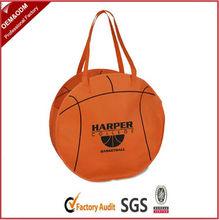Stylish novel ball shape non woven bag for football fans